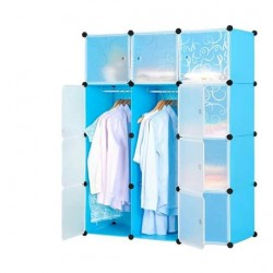 3 column plastic wardrobe with shoe place