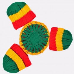 Knitted rasta marvins