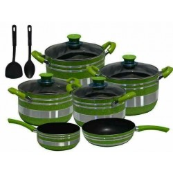Non-sticking cooking pots