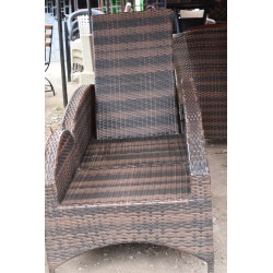 Closed Rattan Sun Bed