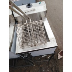 Single chips deep fryer