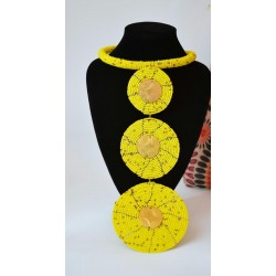 Pendant Necklace with Circles