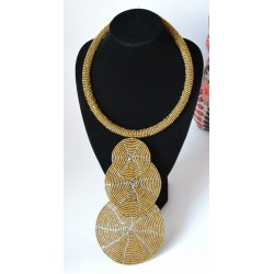 Handcrafted African Jewellery Bead Necklace