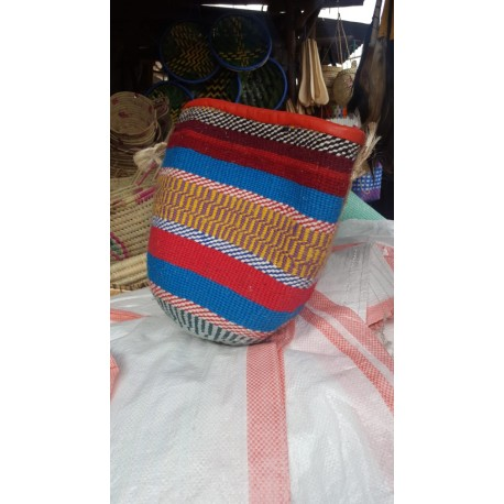 Medium African Yarn Kiondo-Basket