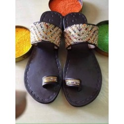 Masai Beaded Handmade Sandals( Ladies)