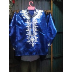 Bazin Embroidery Shirt