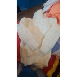 Large Size Kids Knitted Pullneck Sweater