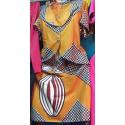 Kitenge Skirt and Coat