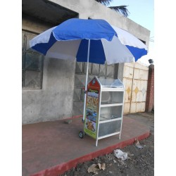 Snack Trolley Fixed with Pima