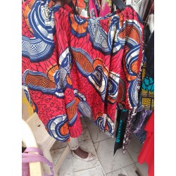 Kitenge Off Shoulder Top