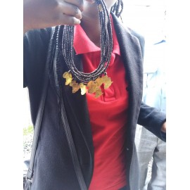 Necklaces with Brass Pendant