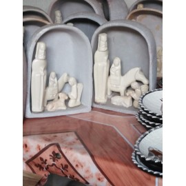 Soapstone Nativity
