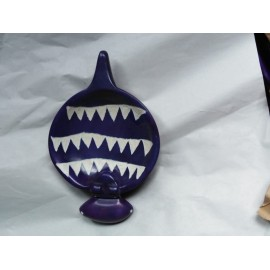Hand crafted African Soapstone Hippo Bowl