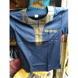 Men's Short Sleeve African Dashiki Print Shirt
