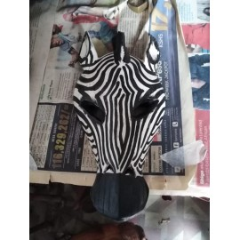 Zebra Wall Mask