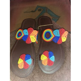 LADIES MAASAI SANDALS