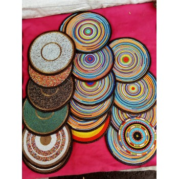 African Beaded Table Mats